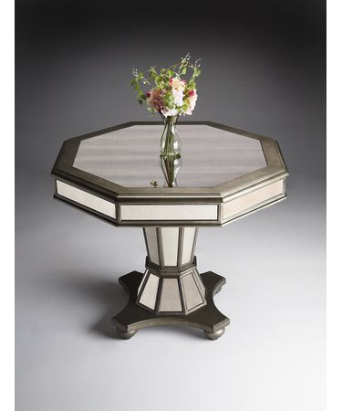 Shown in Antique-Finished Mirrored finish